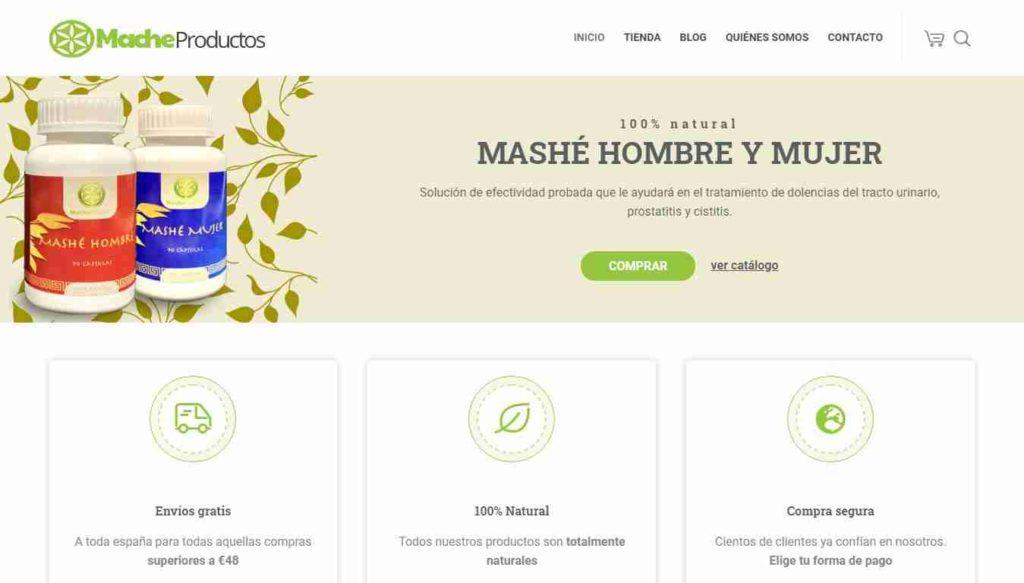 Mache Productos - Tienda online de productos naturales