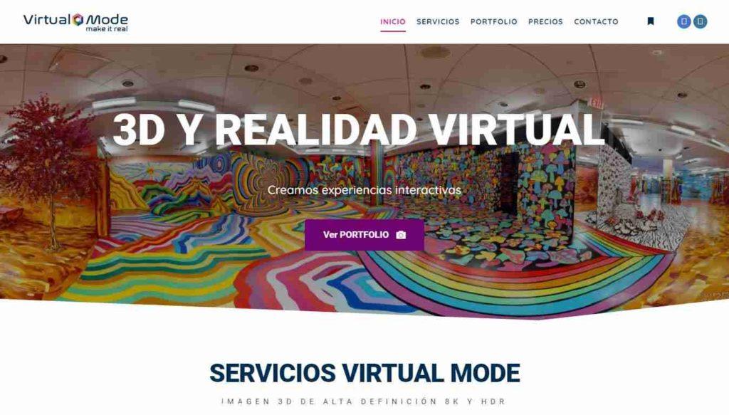 Virtual Mode - Recorridos 3D y realidad virtual
